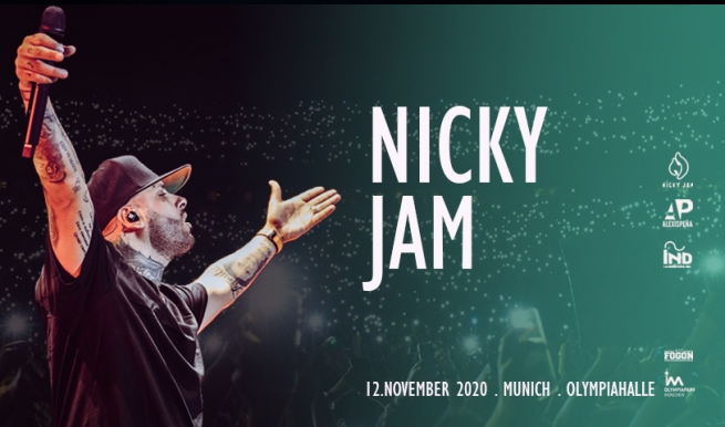 NICKY JAM WORLD TOUR 2020