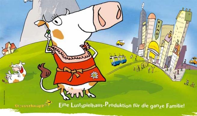 Die Kuh, die wollt ins Kino gehen