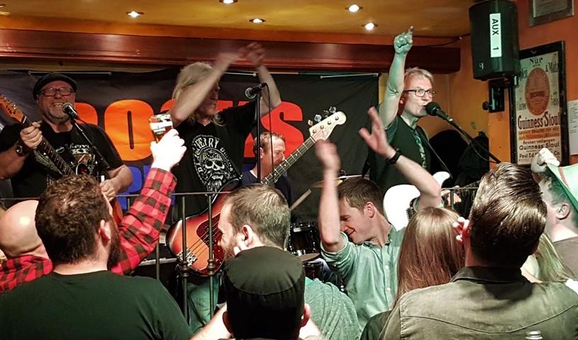 ''Frühlingsgefühle-Party'' mit ROCK N' PEBBLES