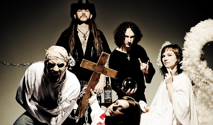 ''Party für Bruce, Lemmy, Ozzy & Co'' mit MAIDENHEAD