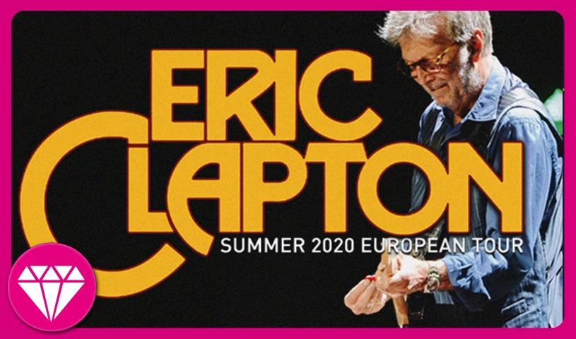 ERIC CLAPTON - Premium Pakete und Upgrades