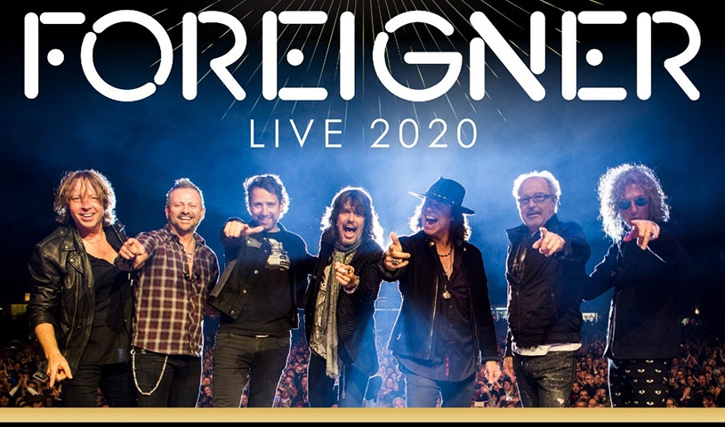 FOREIGNER + SAGA + THE NEW ROSES
