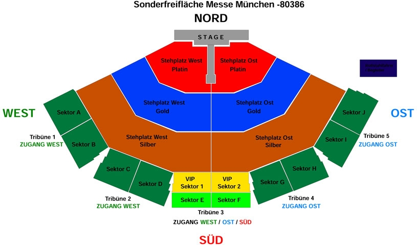 Die Andreas Gabalier Show 2020 Munchen Ticket Dein
