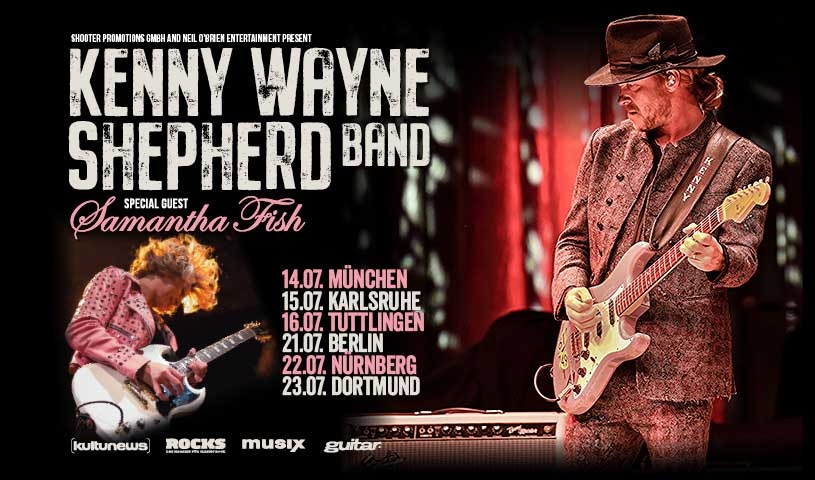 KENNY WAYNE SHEPHERD + SAMANTHA FISH