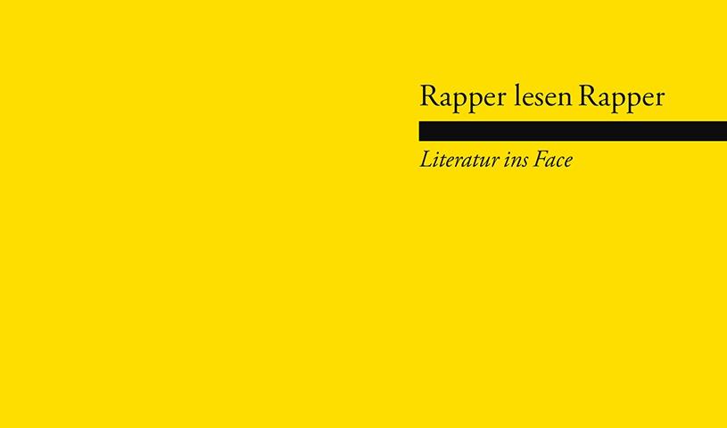"""Rapper lesen Rapper - """"Literatur ins Face"""""""