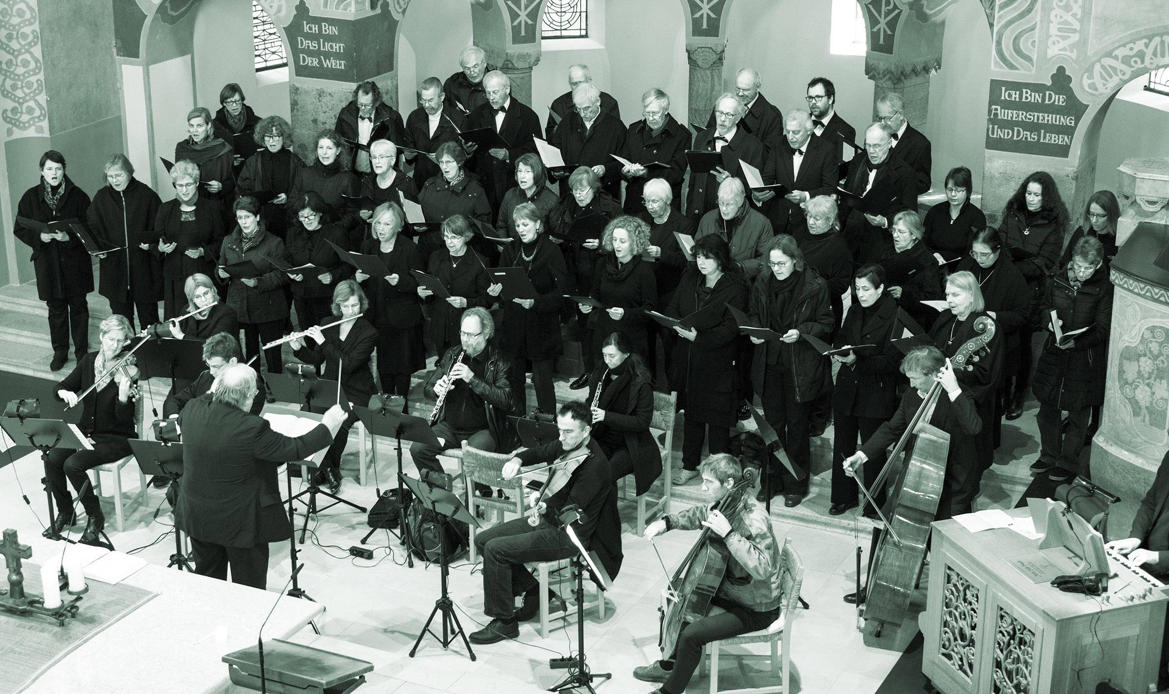 """W. A. Mozart """"Te Deum laudamus"""", F. Schubert """"Messe G-Dur"""", J. G. Albrechtsberger """"Orgelkonzert B-Dur"""""""