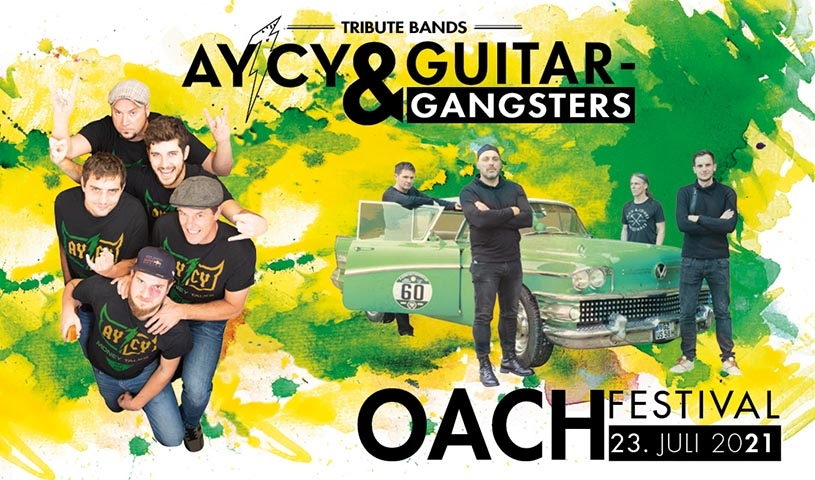 Tribute Bands AY/CY & Guitar Gangsters