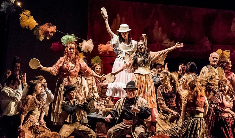CARMEN - Oper in vier Akten von Georges Bizet
