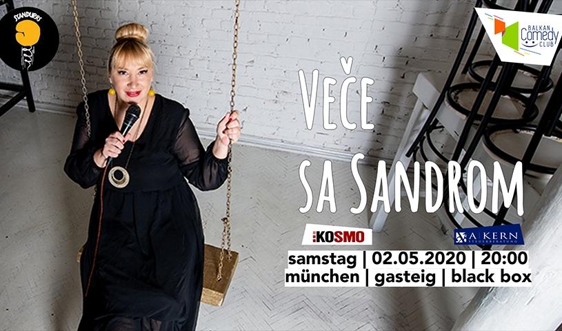 ''Vece sa Sandrom'' - Balkan Comedy Club
