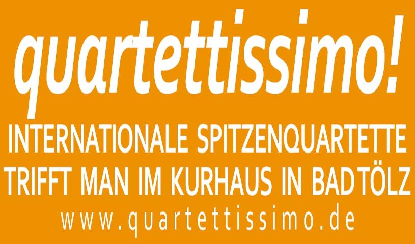 ABO 2020/2021: QUARTETTISSIMO! - Internationaler Streichquartett-Zyklus