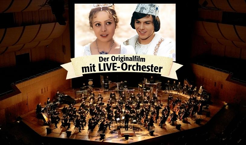 Drei Haselnüsse für Aschenbrödel – der Originalfilm mit Live-Orchester