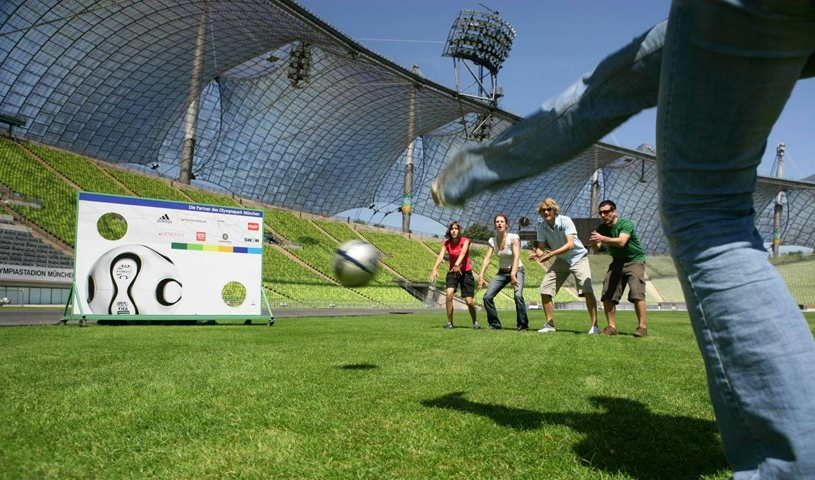 Tour de Park - Auf Entdeckungsreise im Olympiapark - April bis Oktober