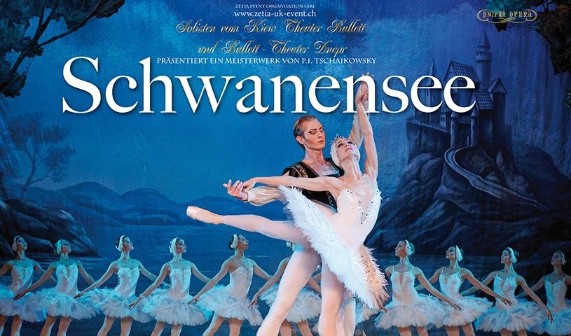 Solisten vom Kiew Theater Ballett und Ballett-Theater Dnepr: Schwanensee