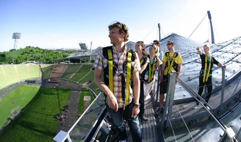 Zeltdach-Tour im Olympiastadion - April bis November