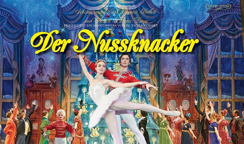 Solisten vom Kiew Theater Ballett und Ballett-Theater Dnepr: Der Nussknacker