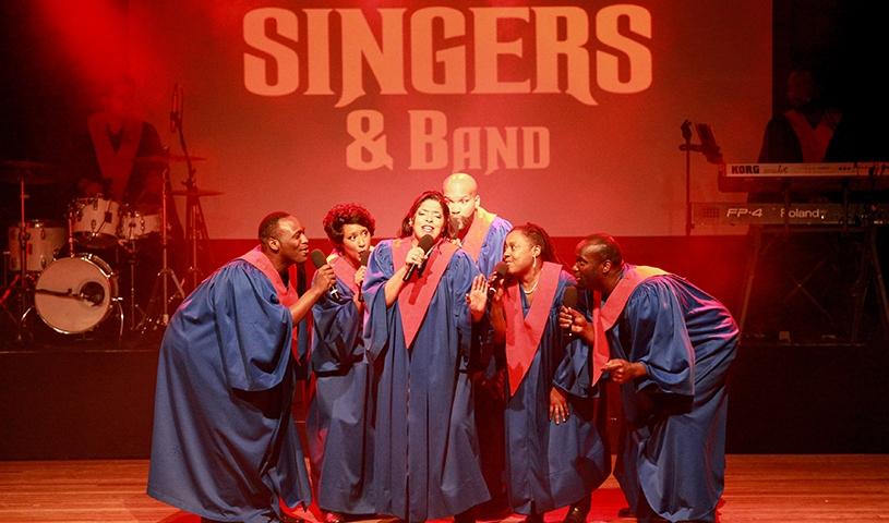 """The Original USA Gospel Singers and Band - """"Einer der besten Gospelchöre der Welt"""""""